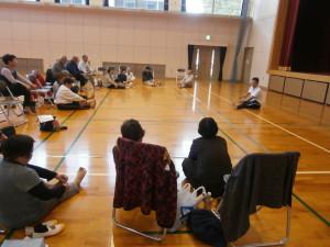 心身健康道場の老人会講座